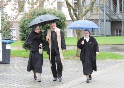 Sr. Anna Maria, Weihbischof Renz, Sr. Adelheid